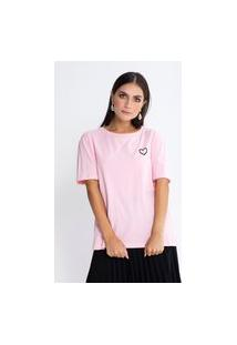 Camiseta Preview Love Yourself Rosa