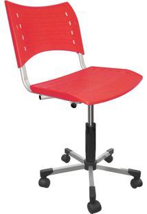 Cadeira De Escritório Secretária Stillus Vermelho