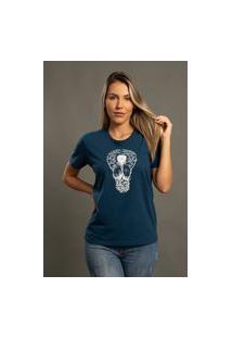 Camiseta Bossa Brasil Light Azul