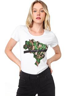 Camiseta Forum Sos Mata Atlântica Branca