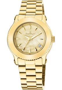 Relógio Analógico Jv01023- Dourado- Jean Vernierjean Vernier