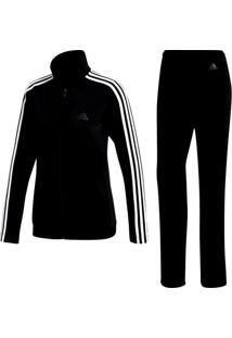 Agasalho Feminino Adidas Back 2 Basics 3 Stripes