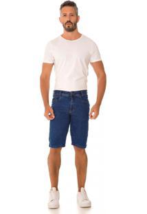 Bermuda Jeans Express Bruno Azul - Azul - Masculino - Dafiti