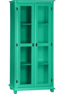 Cristaleira Lecker - Laca Verde Mimo