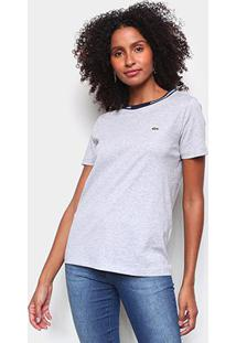 Camiseta Lacoste Lisa Feminina - Feminino