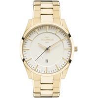 afc82e0d6dbdb Relógio Technos Slim Gm10Yf 4X Masculino - Masculino-Dourado