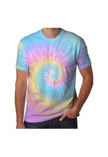 Camisa Tie Dye Masculina Sapatofranca Bicolor