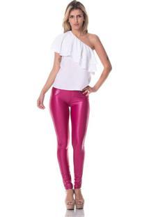 Calça Gisele Freitas Skinny Modeladora Pink