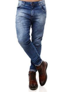 Calça Jeans Masculina Amuage Azul