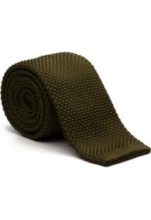 Gravata Key Design - Tricot Green - Masculino-Verde