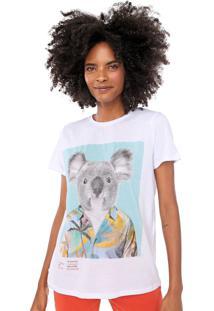 Camiseta Lez A Lez Coala Branca