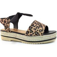 069530831 Sandália Flatform Marrom feminina | Shoes4you