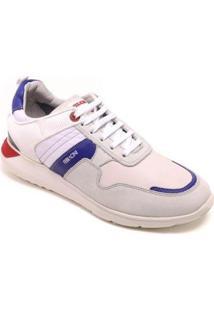 Tênis Ferracini Sneakers Elektra Masculino - Masculino-Branco