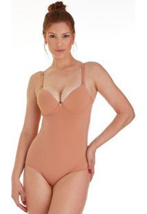 Body Modelador Com Bojo De Taças Lisa Feminize