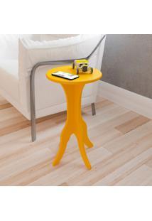 Mesa De Apoio Kin - Artely. - Amarelo