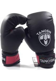 Luva Boxe Tanoshi 08 - 12 Oz Kvx Rsa/Pto - Tanoshi