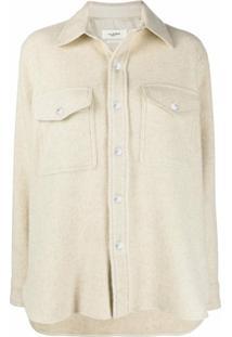 Isabel Marant Étoile Faxon Shirt Jacket - Neutro