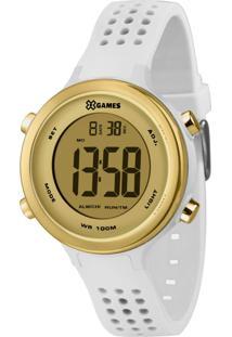 Relógio X-Games Feminino Xstyle Digital Branco Xfppd064-Cxbx