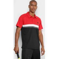fe68ea2f71 Camiseta Polo Adidas Club Td Masculina - Masculino-Vermelho