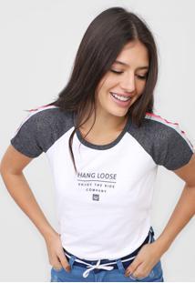 Camiseta Hang Loose Company Branca - Kanui