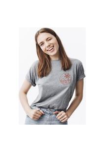 Camiseta Feminina Mirat Beach Mescla