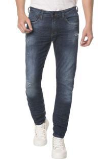 Calça Jeans Five Pocktes Skinny Ckj 016 Skinny - Marinho - 38
