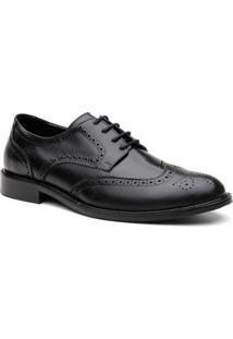 Sapato Social Brogue Belgica Masculino - Masculino