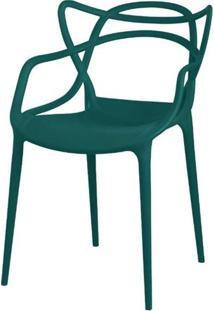 Cadeira Master Allegra Polipropileno Verde Petroleo - 34297 - Sun House