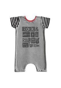 Pijama Curto Comfy Rock Freedom
