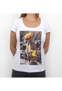 Flor - Camiseta Clássica Feminina