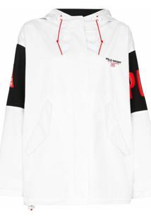 Polo Ralph Lauren Jaqueta Esportiva Com Aplicação De Logo - Branco