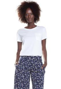Camiseta Levis The Perfect Pocket 186720037 - Feminino-Branco