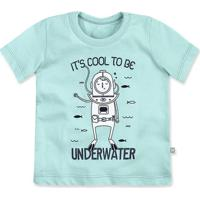 Camiseta Bebê Menino Em Algodão Estampa Frontal Hering Kids 2f9be38cafc03