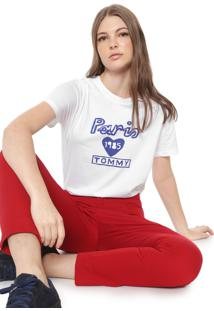 Camiseta Tommy Hilfiger Laryn Branca