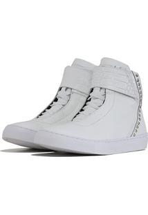 Tãªnis Sneaker K3 Fitness Spini Branco - Branco - Feminino - Dafiti