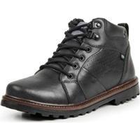 daea56757 Bota Coturno Top Franca Shoes Casual Masculino - Masculino-Preto