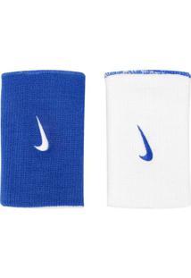 Munhequeira Nike Dri-Fit Home & Away Doublewide Dupla Face - Unissex