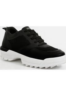 Tênis Feminino Chunky Sneaker Tratorado Via Uno