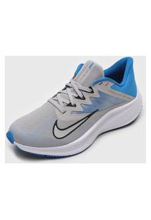 Tênis Nike Quest 3 Cinza/Azul