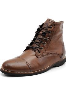 Bota Shoes Grand Londor Marrom Tamanho Grande