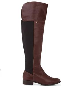 Bota Couro Terra Over The Knee - 34 (287.17127465-00546-34)