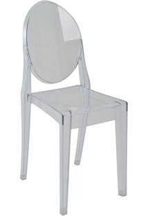 Cadeira Sem Braço Pc Sofia-Rivatti - Incolor