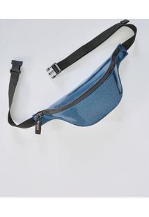 Pochete Gliter Azul
