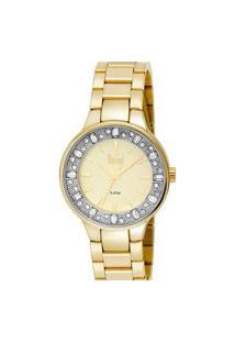 Relógio Feminino Analógico Dourado Dumont - Du2035Lqi/4X Dourado