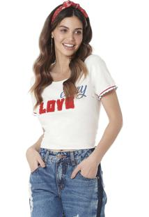 Camiseta Estampada Serinah Brand Every Love