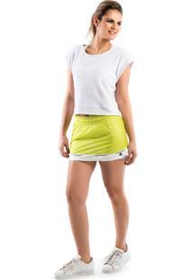 Short Saia Walk Trendy Fitness Verde