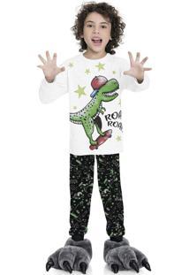 Pijama Dino Branco