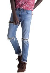 Calça Jeans Levis 512 Slim Taper - 60446 Azul