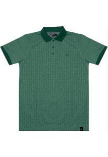 Camisa Polo Masculina Verde