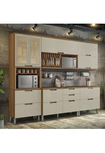 Cozinha Duquesa Completa - 5 Peças - Freijó Com Offwhite – Nesher